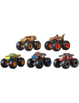 Hot Wheels Monster Trucks 1:64 Critter Crashers 5pk   Styles May Vary by Hot Wheels