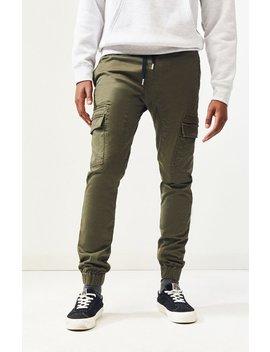 Zanerobe Olive Sureshot Jogger Pants by Pacsun
