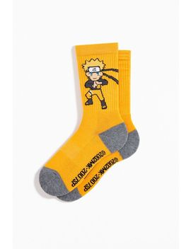 Naruto Sport Crew Sock by Urban Outfitters