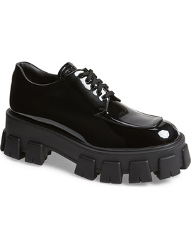 Lug Sole Oxford by Prada