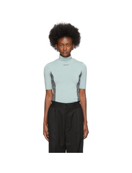 Blue Fitted Turtleneck by Ambush