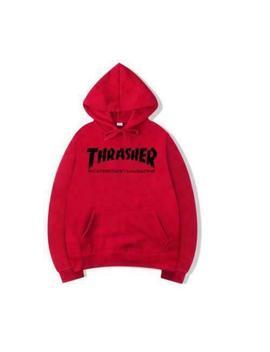 New Unisex Men Women Thrasher Flame Pullover Hoodie Sweaters Sweatshirt by Ebay Seller