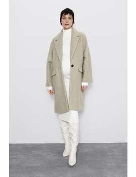 Oversized BouclÉ Coat by Zara