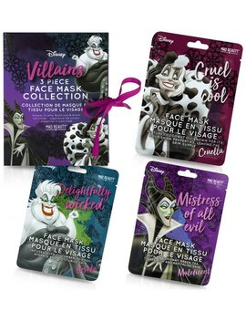 Disney Villains Sheet Face Masks Gift Set930/1528 by Argos