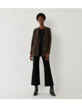 Teddy Boucle Cardigan by Warehouse