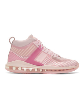 Pink John Elliott Edition Le Bron Icon Qs Sneakers by Nike