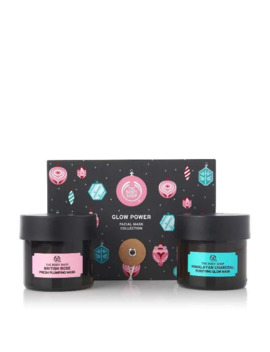 Glow Power Facial Mask Collection by The Body Shop