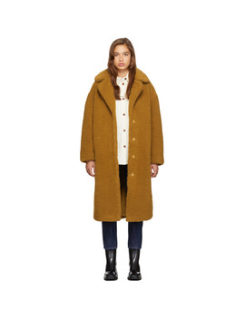 Tan Camilla Coat by Stand Studio