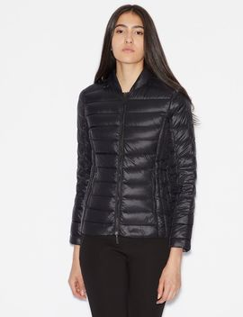 Padded Jacket With Duck Down by Armani Exchange