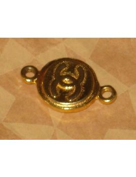 Chanel Authentic Gold Cc Logo Charm Pendant Lovely Under 1 '' by Ebay Seller