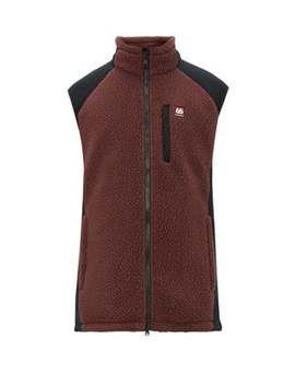 Tindur Zip Through Faux Shearling Gilet by 66°North