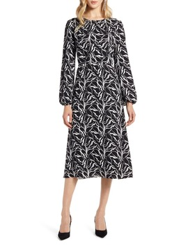 Long Sleeve Midi Dress by Halogen