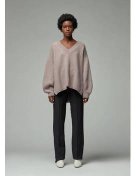 Lache V Neck Sweater by Viden