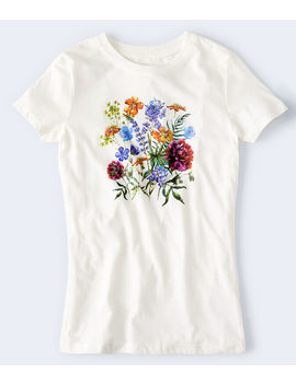 Floral Bouquet Graphic Tee by Aeropostale