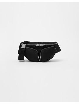 Bolsa De Cintura S Preta by Bimba Y Lola