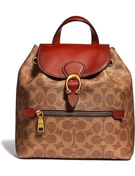 Evie Backpack 22 In Signature Canvas by Coach