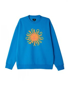 House Of Obey Box Fit Premium Crewneck by Obey