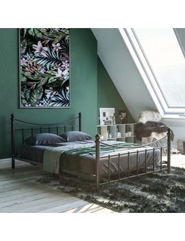 Leddy Metal Bed Frame by 17 Stories