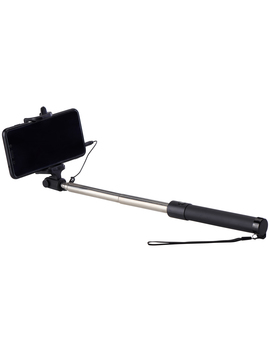 "Onn 28"" Wired Selfie Stick With 3.5mm Jack by Onn."