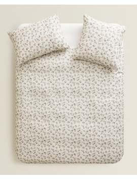 GeblÜmter Bettbezug  BettbezÜge   BettbezÜge   Schlafzimmer by Zara Home