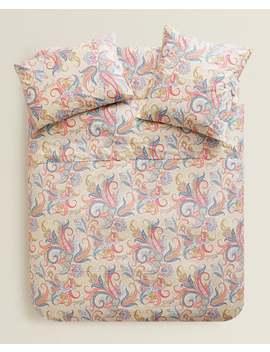 Bettbezug Mit Buntem Paisleyprint  BettbezÜge   BettbezÜge   Schlafzimmer by Zara Home
