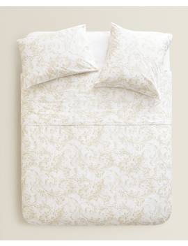 Bettbezug Mit Blumenmuster  BettbezÜge   BettbezÜge   Schlafzimmer by Zara Home