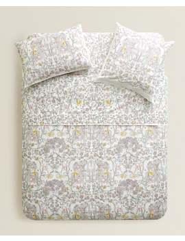 Bettbezug Mit Lebensbaum  BettbezÜge   BettbezÜge   Schlafzimmer by Zara Home