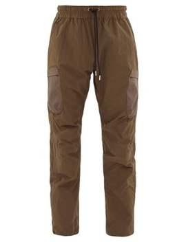 Patch Pocket Technical Track Pants by John Elliott