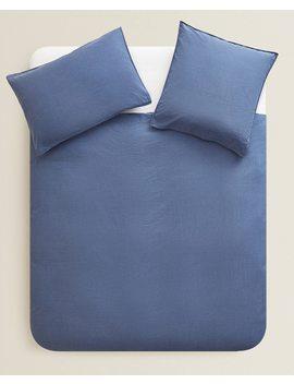 Bettbezug Aus Gewaschener Baumwolle  BettbezÜge   BettbezÜge   Schlafzimmer by Zara Home