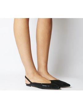 Fan Club Split Point Slingback Flats by Office