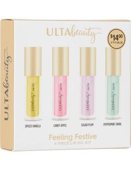 Feeling Festive 4 Piece Lip Oil Kit by Ulta