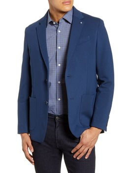 Regular Fit Knit Sport Coat by Bugatchi