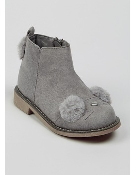 Girls 3 D Bunny Boots (Younger 4 12) by Matalan