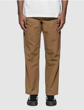Single Knee Pants by              Carhartt Work In Progress
