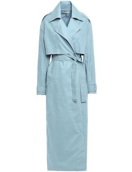 Inez Cotton Trench Coat by Anna Quan