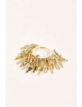 6.5mm Gold Tassel Eternity Single Earring by Maria Tash