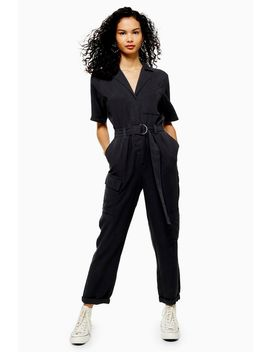 Tall Washed Casual Boilersuit by Topshop