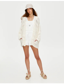 Chaqueta Crochet Join Life by Pull & Bear