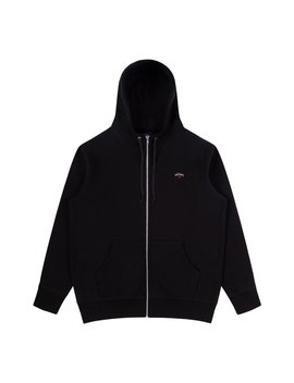 Zip Up Collar Hoodie by Noah Nyc