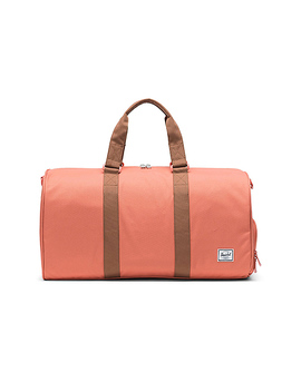 Novel Mid Volume Duffle In Apricot Brandy & Saddle Brown by Herschel Supply Co.