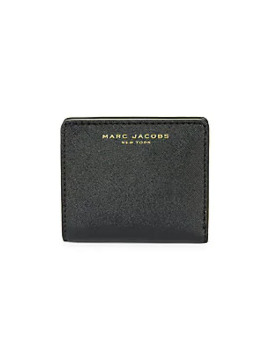 Textured Bi Fold Wallet by Marc Jacobs
