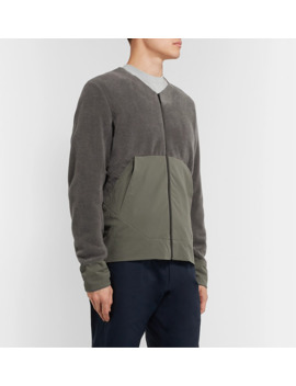 Dinitz Slim Fit Fleece And Shell Jacket by Arc'teryx Veilance