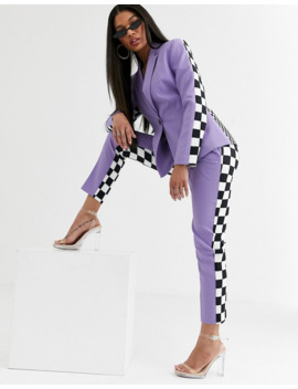 Asos Design X Christian Cowan Lilac Two Piece Suit Blazer by Asos Design