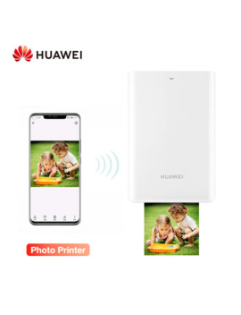 Huawei Ar Portable Printer Photo Pocket Mini Printer Diy Photo Printers For Smartphones Bluetooth 4.1 300dpi Printer by Ali Express.Com