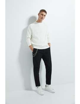 Cropped Chino Pants by Zara