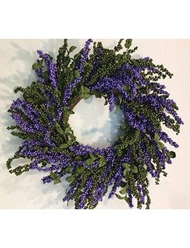 """Berry Fall Thanksgiving 22\"""" Wreath by Ophelia & Co."""