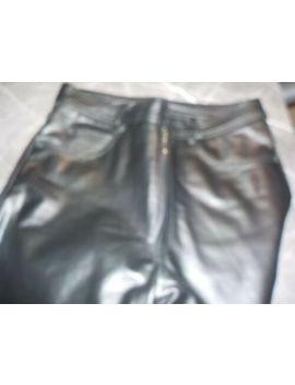 Mens Leather Trousers Size 34 Waist And Long Leg by Ebay Seller