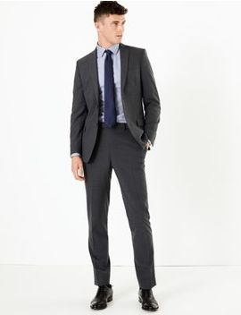 The Ultimate Charcoal Slim Fit Suit by Marks & Spencer
