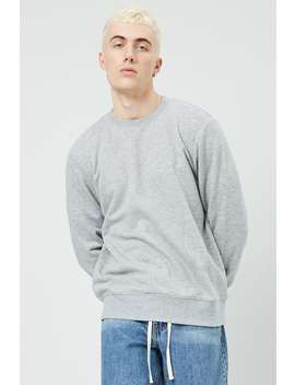 Relaxed Fleece Sweatshirt by Forever 21