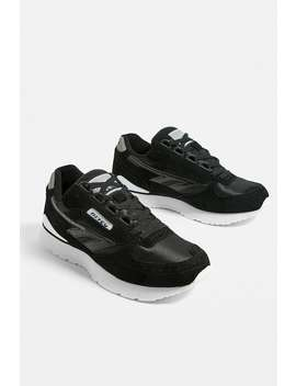 Hi Tec Silver Shadow 2 Black Trainers by Hi Tec